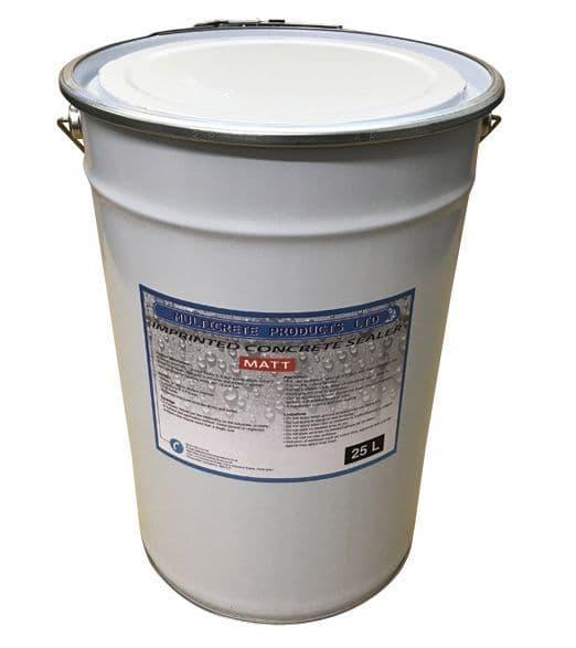 Pattern Imprinted Concrete Sealer - Matt Finish (25Ltr)
