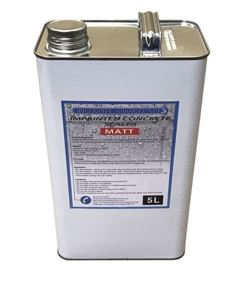 Pattern Imprinted Concrete Sealer - Matt Finish (5Ltr)