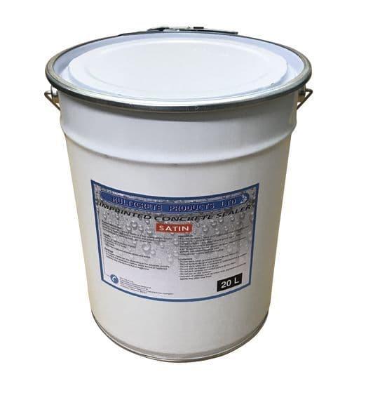 Pattern Imprinted Concrete Sealer - Satin (20Ltr)