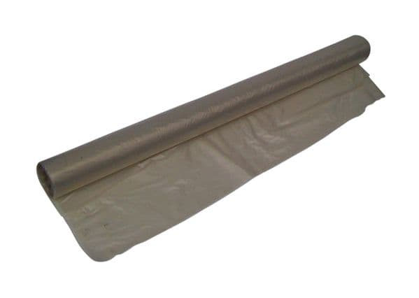 Protective Sheeting - Clear Polythene 4m x 25m 35/40MU 140/150 Gauge