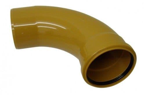 Underground Drainage Single Socket 90 Degree - 110mm