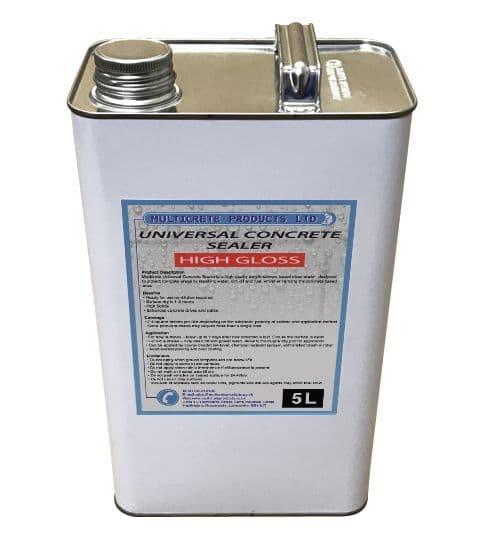 Universal Concrete Sealer - High Solid Gloss (5Ltr)