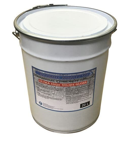 Universal Concrete Sealer - Ultra High Solid Gloss (20Ltr)