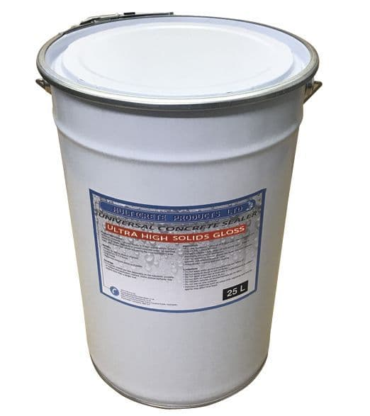 Universal Concrete Sealer - Ultra High Solid Gloss (25Ltr)