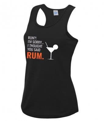 """Rum"" technical running vest"