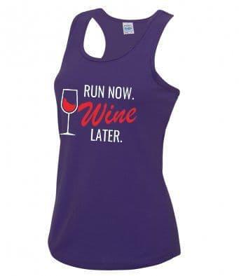 """Wine"" technical running vest"