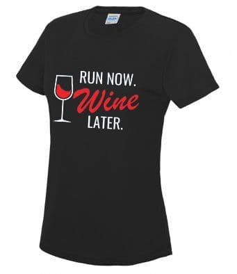 """Wine"" Unisex or Women's Tech T-shirt"