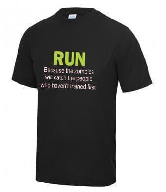 """Zombies"" Unisex or Women's Tech T-shirt"
