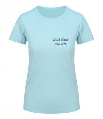 Bassetlaw Barkers  mint unisex or women's technical T-shirt