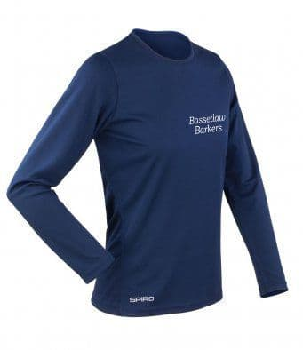 Bassetlaw Barkers unisex and women's Long Sleeved T-Shirt
