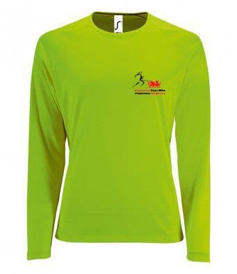Canicross Anglesey technical Long Sleeved T-Shirt