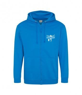 Canicross Lincolnshire  Unisex Zip Hoodie