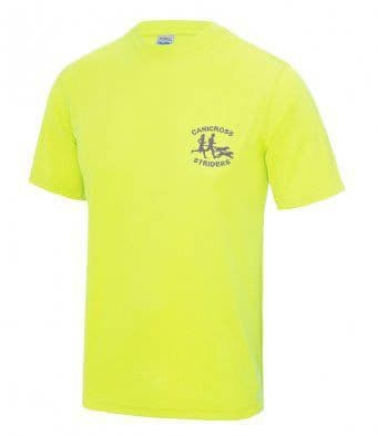 Canicross Striders Reflective tech t-shirt