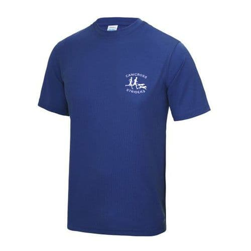 Canicross Striders tech t-shirt