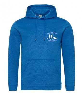 Canicross Striders Unisex Technical Hoodie