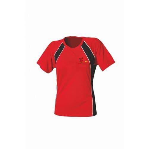 Cardiff Canicross Ladies Tech T-shirt