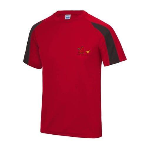 Cardiff Canicross Unisex Tech T-shirt