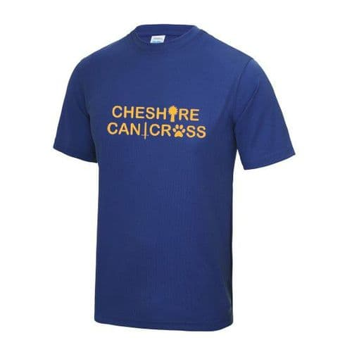 Cheshire Canicross tech t-shirt