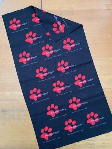 "Deepdale Doggers Canicross ""buff type"" scarf"