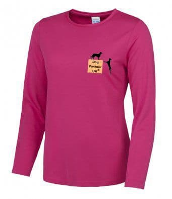 Dog Parkour UK women's Long Sleeved T-Shirt