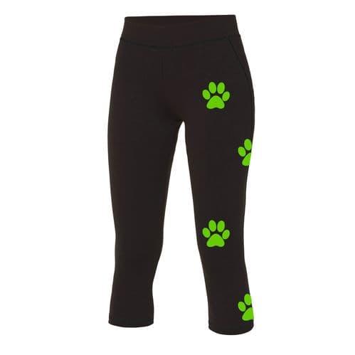 Dog Trails NI Custom Womens Capri Leggings