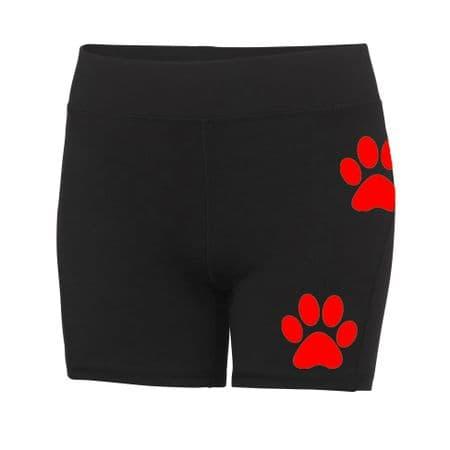 Dog Trails NI Ladies Running Shorts