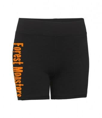Forest Monsters Ladies Compression Shorts