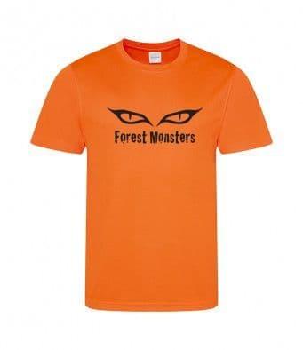 Forest Monsters Tech t-shirt