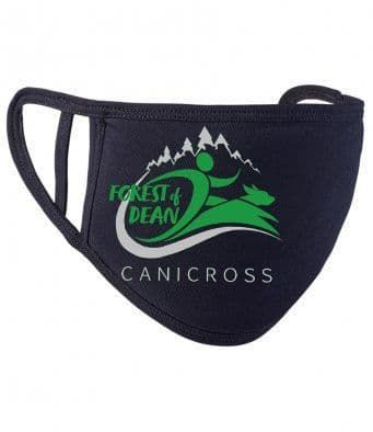 Forest of Dean Canicross 2 ply face mask