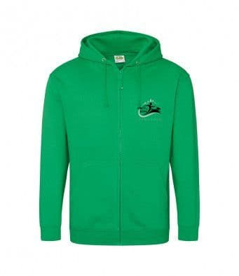 Forest of Dean Canicross Unisex Zip Hoodie