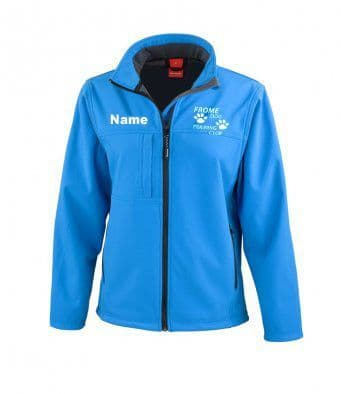 Happy Hoopers women's soft shell jacket 2