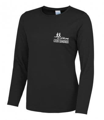 Leeds Canicross ladies  Long Sleeved Reflective T-Shirt