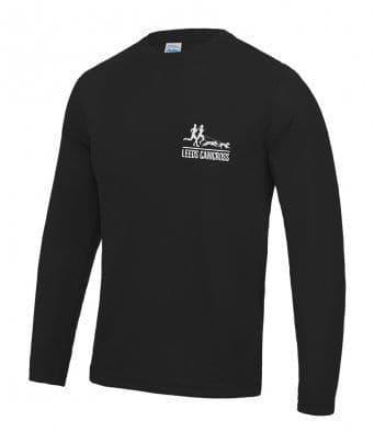 Leeds Canicross Reflective Long sleeve unisex T-Shirt