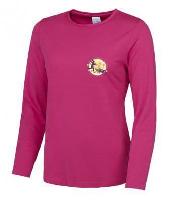 North Yorkshire Canicross Women's Long Sleeved T-Shirt