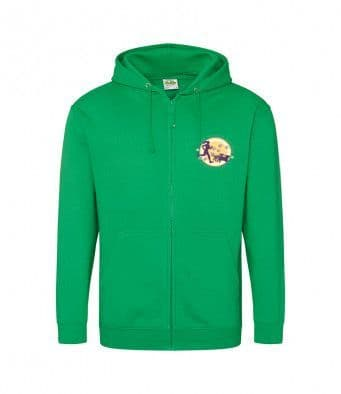 North Yorkshire Canicross Zip Hoodie