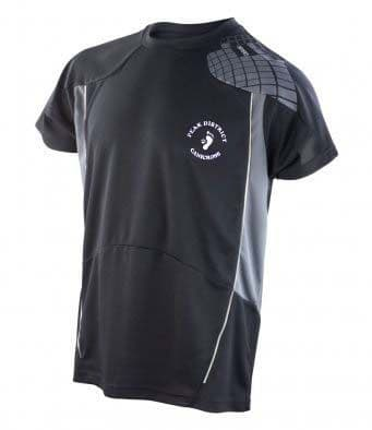 Peak District Canicross Performance tech t-shirt