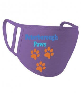 Peterborough Paws 2 ply face mask