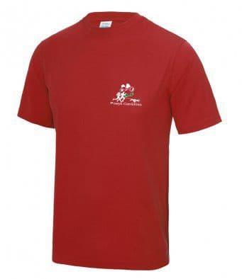 Powys Canicross tech t-shirt