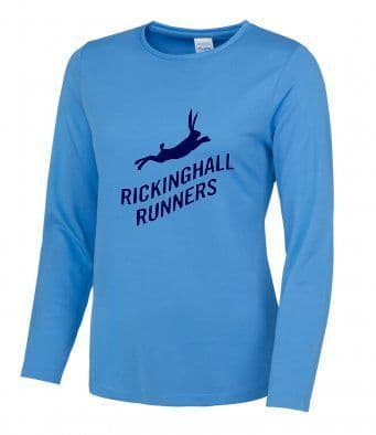 Rickinghall Runners ladies  Long Sleeved T-Shirt