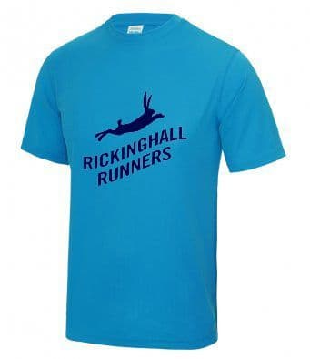 Rickinghall Runners tech t-shirt
