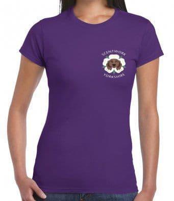 Scentwork Yorkshire cotton t-shirt