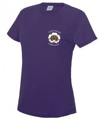 Scentwork Yorkshire technical t-shirt