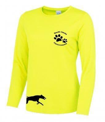 South Hants Long Sleeve Ladies Technical T-Shirt