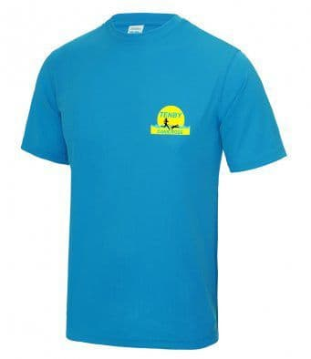 Tenby Canicross tech t-shirt, Unisex and Ladies