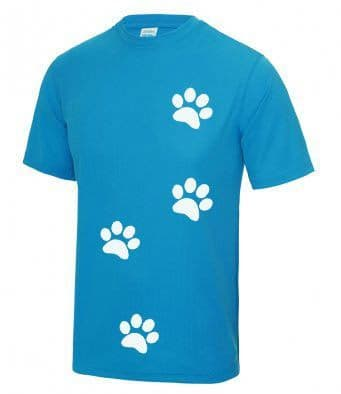 Unisex Technical Paw print T-shirt