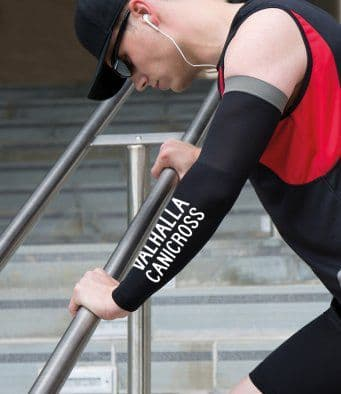 Valhalla Canicross compression arm sleeves