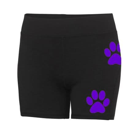 West Glamorgan Canicross Ladies Compression Shorts