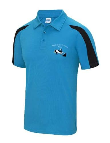 Wild West Contrast Technical Polo Shirt