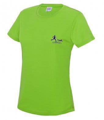Women's Trailrunners Northants Technical t-shirt