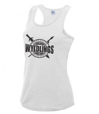 Worcester Wyldlings White Technical Vest